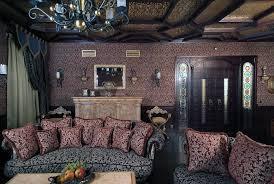 готический дизайн интерьера